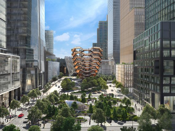 HUDSON YARDS HISTORIC MOMENT IN THE CITY OF NEW YORK